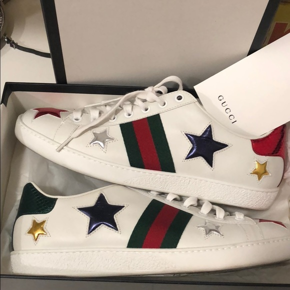 Gucci Shoes | Gucci Star Sneakers